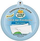 Citrus Magic Solid Air Freshener Pure Linen, Pack of 6, 8-Ounces Each
