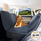 YoGi Prime Dog seat Cover for Back seat - Hammock Dog car seat Covers for Large Dogs, Waterproof, protrct Your Vehicle only with Durable Back seat Cover for Dogs - Universal fit for Most Cars