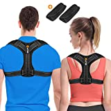 Back Posture Corrector for Men and Women - Posture Brace - Adjustable Back Straightener -Effective Comfortable Adjustable Posture Correct Brace - Posture Support - Kyphosis Brace (L)