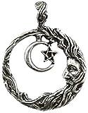 Wicca Wisdom Amulet Pendant Necklace