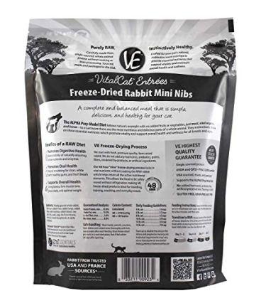 Vital-Cat-Freeze-Dried-Rabbit-Mini-Nibs-Grain-Free-Limited-Ingredient-Cat-Food-12-Ounce-Bag