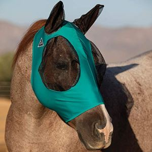Professional`S Choice Comfort Fit Fly Mask Teal Warmblood