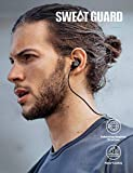 Bluetooth Headphones, Soundcore Spirit Sports Earbuds by Anker, Bluetooth 5.0, 8H Battery, IPX7 Waterproof, SweatGuard, Comfortable Wireless Headphones, Secure Fit for Running, Gym, Workout