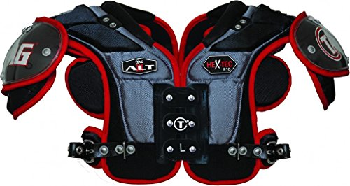TAG ALT III 910 Football Shoulder Pad for Quarterback and Wide Receiver (Small)