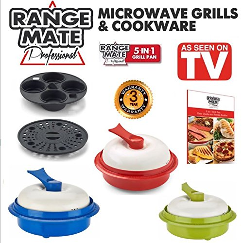 Range-Mate-Pro-Nonstick-Microwave-5-in-1-Grill-PotPan-Cookware-Set-As-Seen-On-TV-Grill-Bake-Roast-Saute-Steam-Poach-One-Pot-Meals