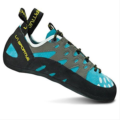 La Sportiva Women's TarantuLace Performance Rock Climbing Shoe, Coral, 38 M EU
