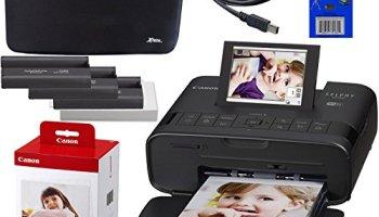 Canon SELPHY CP1300 Wireless Compact Photo Printer (White) +