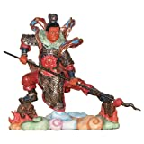 6 Inch Ancient Chinese Warrior Guardian Eastern Deity Statue China Decor Figure