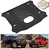 KIWI MASTER Cargo Liner Compatible for 2015-2018 Jeep Wrangler 4 Door Unlimited All Weather Protector Rear Cargo Mat Tray (with Factory Subwoofer)