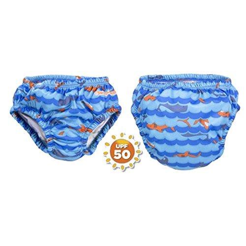 Swim Diaper: Reusable Swim Diaper UPF 50 Level 1 (12 months 18-25 lbs)