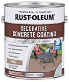 Rust-Oleum 301303 Decorative Concrete Coating, Sunset