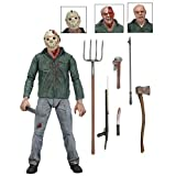 """NECA Friday The 13th Scale Ultimate Part 3 Jason Action Figure, 7"""""""