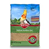 Kaytee Exact Natural Bird Food for Cockatiels, 3-Pound