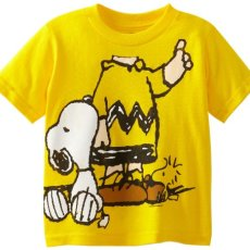 Peanuts Boys' Short Sleeve T-Shirt