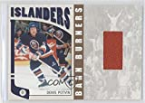 Denis Potvin #/20 (Hockey Card) 2004-05 In the Game Franchises US East Edition - Barn Burners Materials - Gold #EBB-3