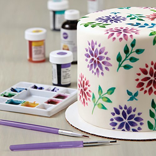 Set 5 pennelli per decorazione torte