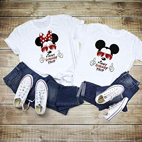 a6261942023ee My First Disney Trip Mickey Mouse Avaitors Shirt, My First Disney ...
