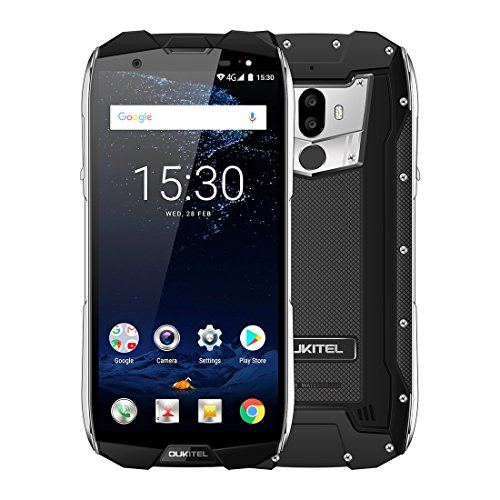 OUKITEL WP5000 6GB+64GB 5200mAh Battery 5.7 inch Android 7.1 Helio P25 Octa-core up to 2.5GHz GSM & WCDMA & FDD-LTE (Black)