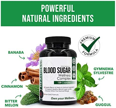 Blood Sugar Wellness Complex, Premium Blend of Herbs for Healthy Blood Sugar Level, Weight Loss & Heart Health - Gymnema Sylvestre, Bitter Melon, Banaba - Unbroken Intention 4