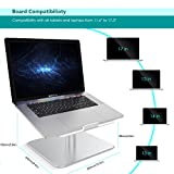 Laptop Stand, Lamicall Notebook Stand (silver)