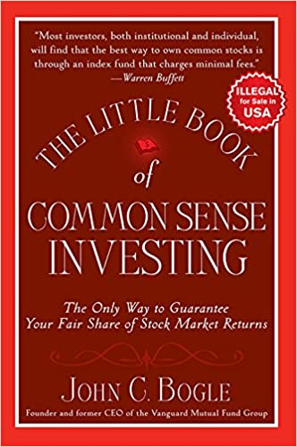 The Little Book of Common Sense Investing - TOP 5 Livros recomendados por Warren Buffet