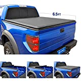 Tyger Auto T1 Roll Up Truck Bed Tonneau Cover TG-BC1F9023 works with 2009-2014 Ford F-150 (Excl. Raptor Series) | Styleside 6.5' Bed | For models without Utility Track System