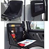 Aketek Travel Car Laptop Holder Tray Bag Mount Back Seat Auto Food Work Table Organizer