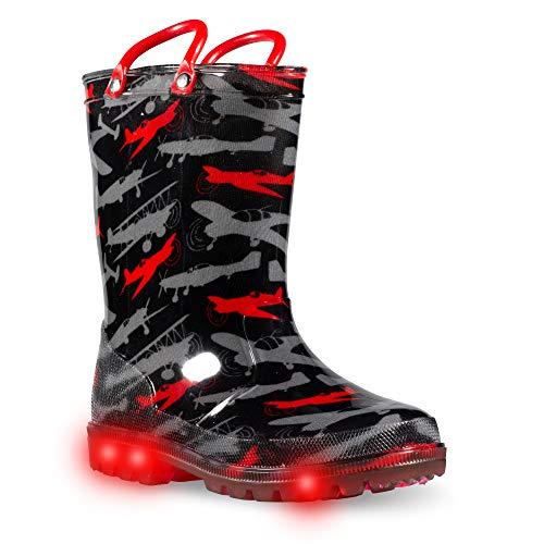 ZOOGS Children's Light Up Rain Boots for Little...