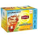 Lipton Unsweetened Iced Tea, K-Cups, 12 ctPack of 6