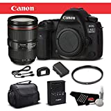 Canon EOS 5D Mark IV Digital SLR Camera with 24-105mm f/4L II Lens Bundle International Version