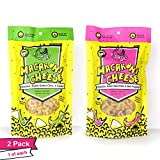 FishSki Macaroni and Cheese, Hatch Red and Green Variety Pack (2 x 6 Ounce Packs) 170 Grams Each