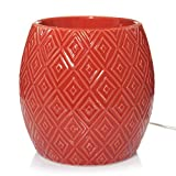 Yankee Candle Cinnabar Diamonds with Timer Scenterpiece Easy MeltCup Warmer
