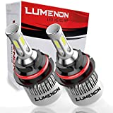 Lumenon 9007 HB5 LED Headlight Kit Flip COB Chips-90W 18000LM 6000K Xenon White Light
