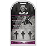 Ramcat Smoke Small Game Head 3 Pack Smoke Game Head 3 Pack, Silver