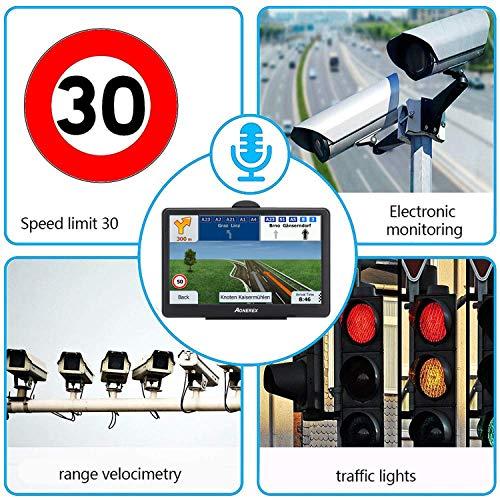 GPS Navigation for Car, Aonerex 7 inch 8GB&256MB GPS