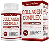 Premium Multi Collagen Peptide Capsules (Types I,II,III,V,X) - Anti-Aging Formula, Healthy Skin & Hair, Strong Joints, Bones & Nails - Hydrolyzed Protein Supplement for Women and Men - 30 Day Supply