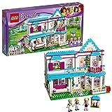 LEGO Friends Stephanie's House 41314 Build and Play Toy House with Mini Dolls, Dollhouse Kit (622 Pieces)