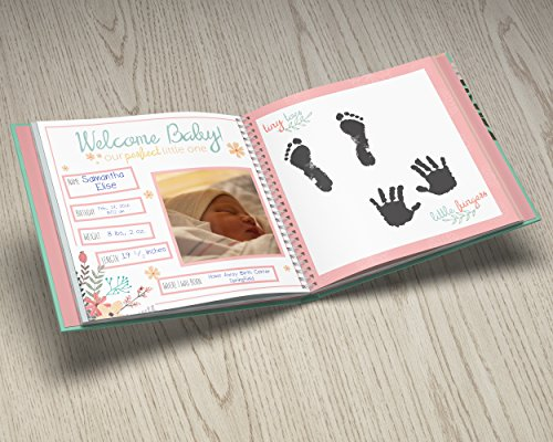 first year baby memory book baby journal modern baby shower gift