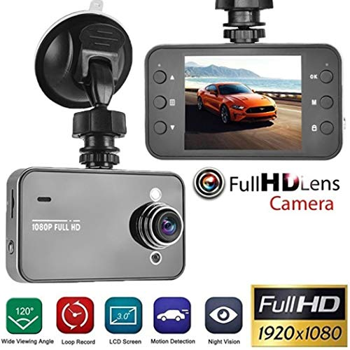 1080P Full HD Screen Car DVR Camera Multi-Function HD Driving Recorder Super Wide-Angle Night Vision Camera Automobile Recorder