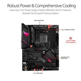 ASUS-ROG-Strix-B550-E-Gaming-AMD-AM4-3rd-Gen-Ryzen-ATX-Gaming-Motherboard-PCIe-40-NVIDIA-SLI-WiFi-6-25Gb-LAN-142-Power-Stages-Front-USB-32-Type-C-Addressable-Gen-2-RGB-and-Aura-Sync