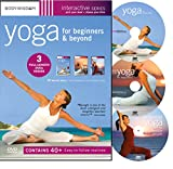 Yoga for Beginners DVD Deluxe Set with 40+ Yoga Video Workouts: Yoga for Stress Relief, AM-PM Yoga & Inflexible People. Easy Yoga for Seniors & much More