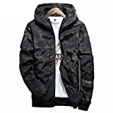 Product review for LifeHe 2017 Men's Camouflage Hoodie Jacket Waterproof Windbreaker Outwear