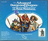 Advanced Dungeons & Dragons - 12 Metal Miniatures Magic-Users and Illusionists