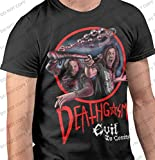 Deathgasm - Fighting Demons T-Shirt Double Sided Officially Licensed (XL) Black