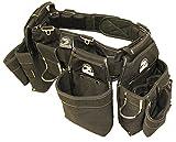Gatorback B145 Carpenters Triple Combo w/Pro-Comfort Back Support Belt. Heavy Duty Work Belt (Medium 31'-35')