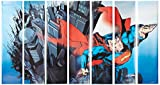 RoomMates Superman Prepasted, Removable Wall Mural - 6' X 10.5'