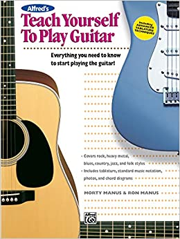 Amazon.com: Alfred's Teach Yourself to Play Guitar: Everything You ...