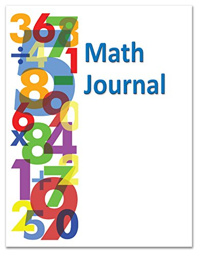 BookFactory Elementary School Math Journal / Classroom Math Book - 10 Pack (8.5