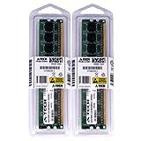 4GB kit (2GBx2) DDR2 PC2-6400 Desktop Memory Modules (240-pin DIMM, 800MHz) Genuine A-Tech Brand