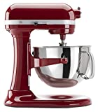 Kitchenaid Professional 600 Stand Mixer 6 quart, Empire Red (Renewed)